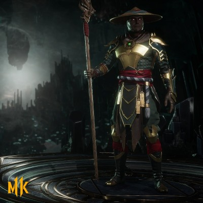 Official Mortal Kombat 11 Raiden Render