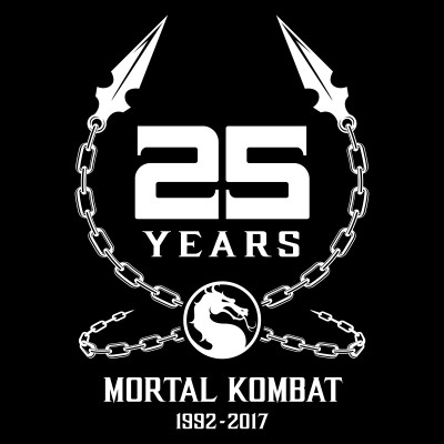 Mortal Kombat 25th Anniversary Logo