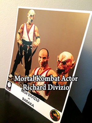 Signed Richard Divizio Baraka Photo on E-Bay