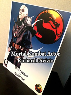 Signed Richard Divizio Quan Chi Photo on E-Bay