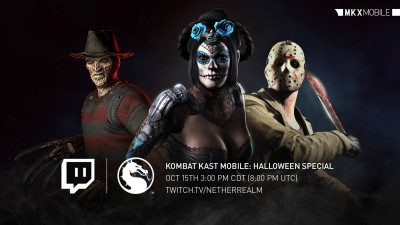 Mortal Kombat X Mobile Halloween Edition Kombat Kast
