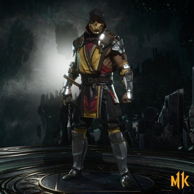 New MK11 Scorpion Render