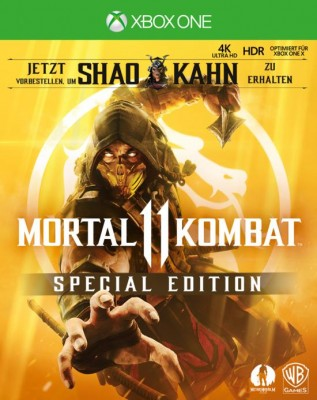 Mortal Kombat 11 Special Edition Box Art