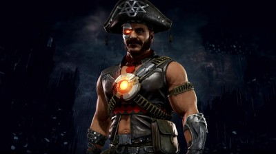 Mortal Kombat 11 Kano Pirate Skin Render