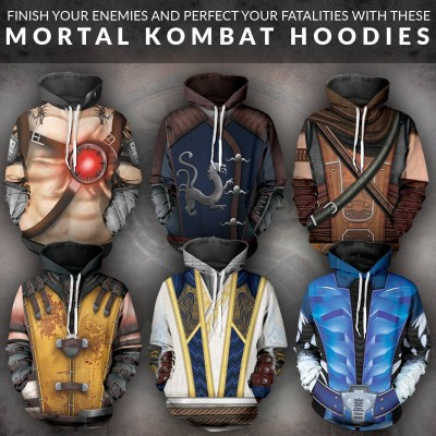Fans-Made Mortal Kombat Hoodies
