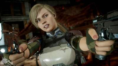 Mortal Kombat 11 Cassie Cage Screenshot