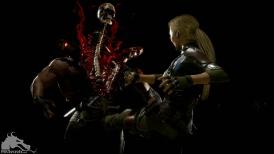 Mortal Kombat 11 Cassie Cage Fatality Screen