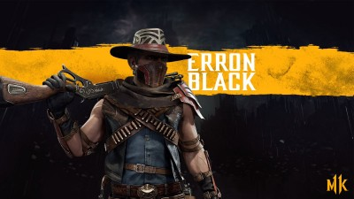 MK11 Erron Black Render
