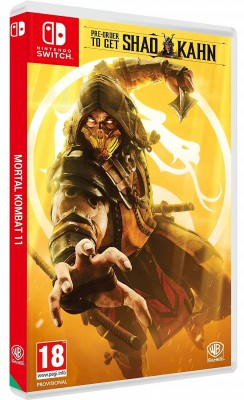 Mortal Kombat 11 Switch case