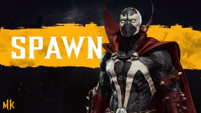 Mortal Kombat 11 Spawn Render