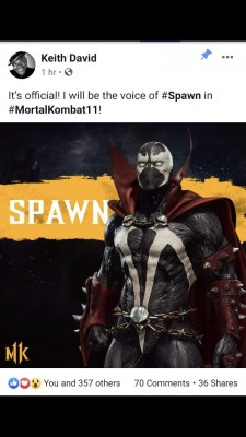 Mortal Kombat 11 Spawn David Keith