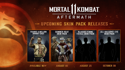 MK11 Aftermath Skin Packs