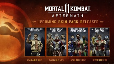 MK11 All Hollows Eve Skin Pack
