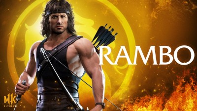 Mortal Kombat 11 Ultimate Rambo Wallpaper