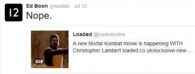 Ed Boon Says Nope To New Mortal Kombat Movie With Christopher Lambert
