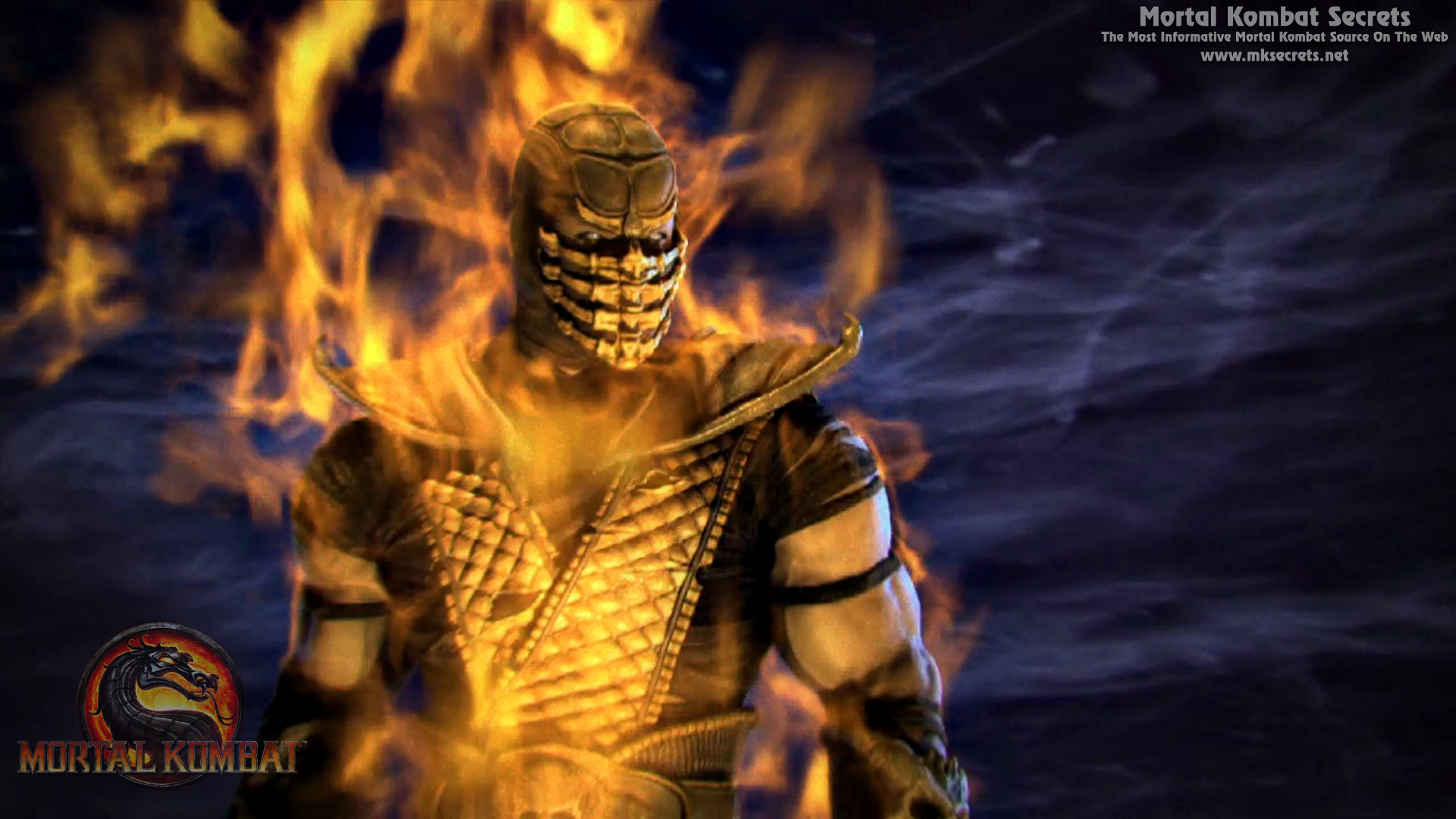 Mortal Kombat Scorpion Wallpaper 2012 mortal kombat 9 (2011 ...