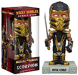 Scorpion Bubble Head