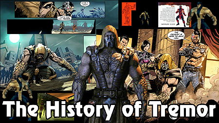 The History Of Mortal Kombat The History Of Tremor Special