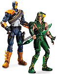 Injustice: Gods Among - Action Figures - Deathstroke and Green Arrow