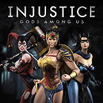 Injustice: Gods Among Us Ame Comi DLC Skin Pack renders