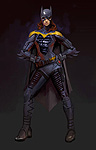 Injustice: Gods Among Us Batgirl Art