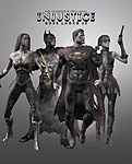 Injustice: Gods Among Us Blackest Night pre order bonus renders