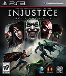Injustice: Gods Among Us PlayStation 3 Box Art