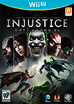 Injustice: Gods Among Us WiiU Box Art