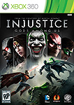 Injustice: Gods Among Us XBox 360 Box Art