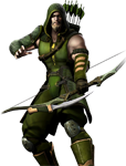 Injustice: Gods Among Us Green Arrow Render