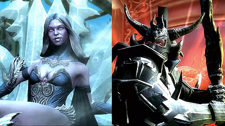 Killer Frost and Ares Gameplay Trailer for Injustice ...