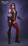 Injustice: Gods Among Us Harley Quinn Concept Art