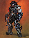 Injustice: Gods Among Us Lobo Art
