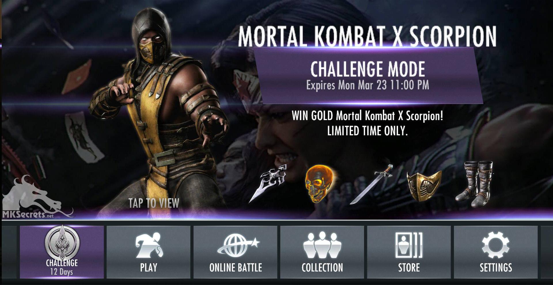 Kombat play online mortal x Play Mortal