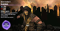 Injustice Gods Among Us Mobile Mortal Kombat X Scorpion Model