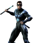 Injustice: Gods Among Us Nightwing Render