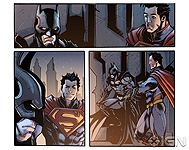 Injustice: Gods Among - Comic Book Art