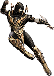 Injustice: Gods Among Us Scorpion Render