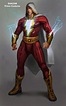 Injustice: Gods Among Us Shazam Concept Art