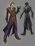 Injustice: Gods Among Us The Joker Concept Art