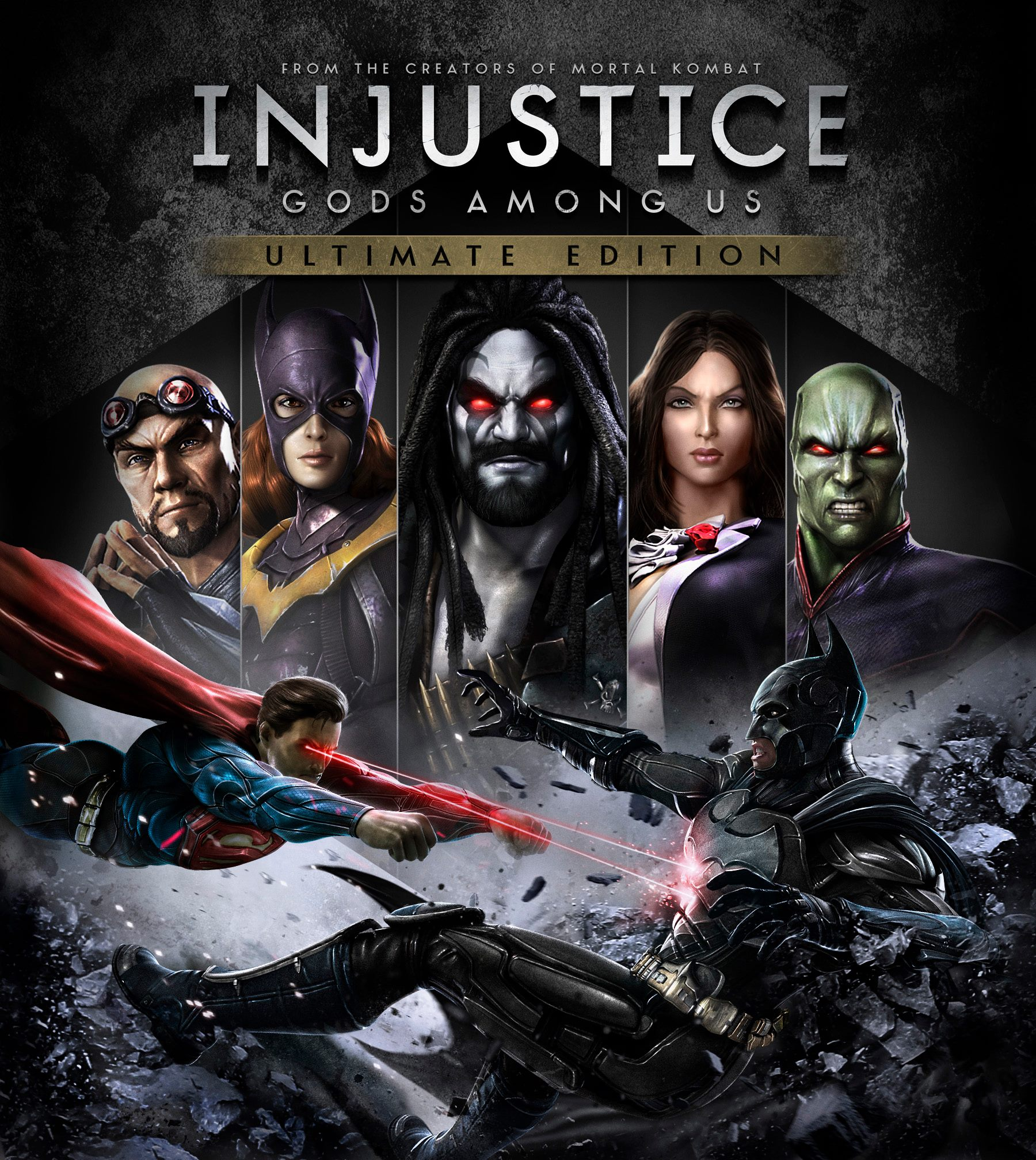 Injustice: Gods Among Us Ultimate Edition for PS4,PC,Vita ...