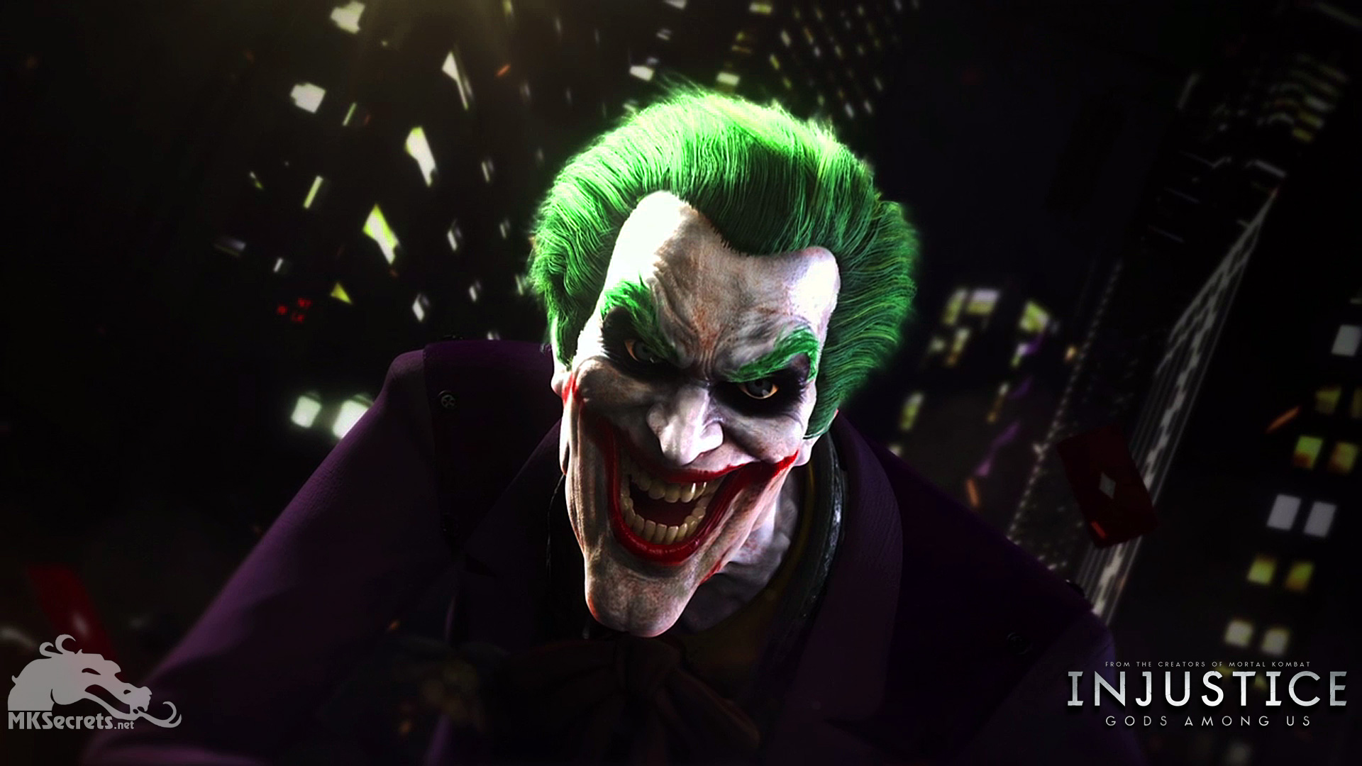 Injustice gods among us wallpapers mortal kombat secrets injustice gods among us the joker wallpaper voltagebd