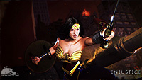 Injustice: Gods Among Us - Wonder Woman Wallpaper