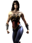 Injustice: Gods Among Us Wonder Woman Render