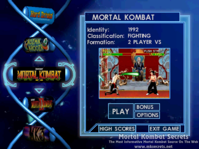 Kombat Kolumns: Midway Arcade Treasures Issues - Mortal