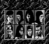 Mortal Kombat 2 for Gameboy