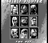 Mortal Kombat 3 for Gameboy