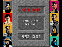 Mortal Kombat 1 for Sega Genesis