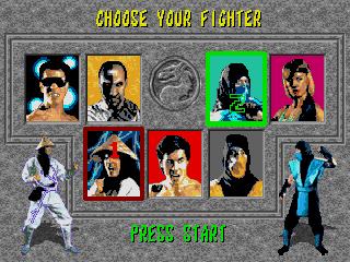 Kombat Kolumns: MK Games for Sega Genesis/Mega Drive - Mortal Kombat