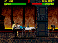 Mortal Kombat II for Sega Genesis